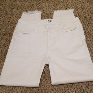 White page jeans size 30 verdugo crop